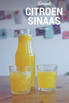 Lekker, simpel en snel: citroensinaaslimonade