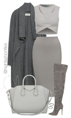 """""""Thanksgiving Look #2"""" by highfashionfiles ? liked on Polyvore featuring Zara, Givenchy, Phyllis + Rosie and ASOS (Top Moda Boots)"""