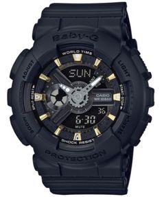 G-Shock Baby-G Shock Resistant Ana-Digi Strap Watch Women's Black Baby G Shock, G Shock Watches, Sport Watches, Cool Watches, Watches For Men, Analog Watches, Men's Watches, Luxury Watches, Jewelry Watches