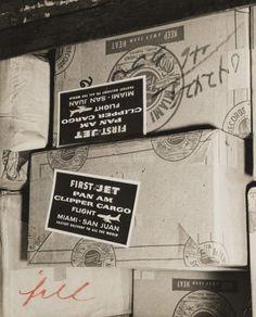 1958 - Clipper Cargo Jet goods - Bill Sanders/Miami Herald - Pan American Airlines   Flashback Miami