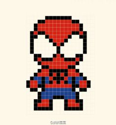 hama beads plantillas Drawing Tips cool drawing ideas Perler Bead Designs, Perler Bead Art, Perler Beads, Pearler Bead Patterns, Perler Patterns, Loom Patterns, Crochet Patterns, Mosaic Patterns, Beaded Cross Stitch