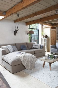 Living Room Idea for a rustic country home