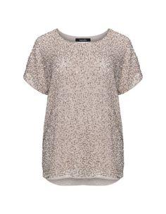 Embellished chiffon top by navabi. Shop now: http://www.navabi-australia.com/blouses-navabi-embellished-chiffon-top-beige-gold-24234-0113.html?utm_source=pinterest&utm_medium=social-media&utm_campaign=pin-it