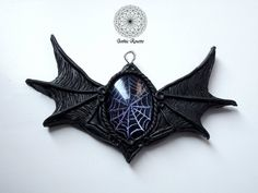 Halloween Shoes, Gothic Halloween, Halloween Jewelry, Halloween Vampire, Victorian Shoes, Victorian Jewelry, Polymer Clay Necklace, Polymer Clay Pendant, Goth Jewelry