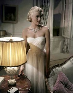 Edith Head dress in To Catch a Thief