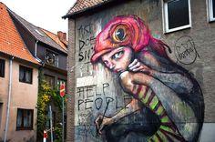 Herakut and the Art of the Collective.  Awesome #StreetArt #Hera #Akut #herakut