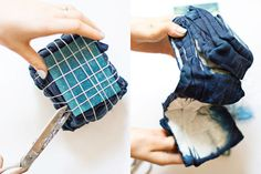 How to Tie Dye the High Fashion Way