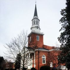 """Binkley Chapel, SEBTS, Wake Forest, NC """"Behold, I will do a new thing; now it shall spring forth; shall ye know it? I will even make a way in the wilderness, and rivers in the desert"""" (Isaiah 43:19)"""