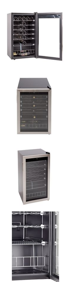 Wine Fridges and Cellars 177750: Free Standing 35 Bottles Wine Cellar Stainless Steel Wine Chiller Refrigerator -> BUY IT NOW ONLY: $298.5 on eBay!