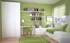 Rengeteg tárolóhely, kényelmes ágy, praktikus dolgozó, tanuló sarok, íróasztal, helytakarékos bútor és szín ötletek kis gyerekszobába