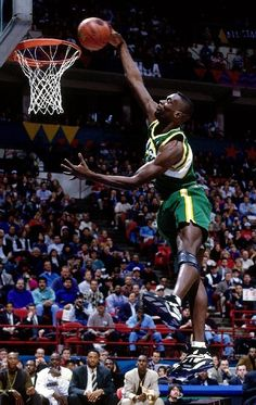 Shawn Kemp Poster #01 [Multiple Sizes] Nba Basketball