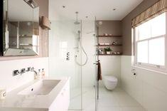 Love this en-suite bathroom 🚽 Bespoke, Bathtub, Construction, London, Interior Design, Bathroom, Building, Taylormade, Standing Bath