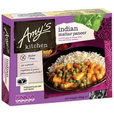 Amy's Kitchen Indian Mattar Paneer
