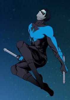 Nightwing is feeling fabulous tonight                                                                                                                                                                                 More