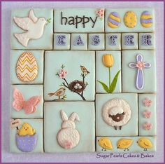Easter Collage - Cake by SugarPearls