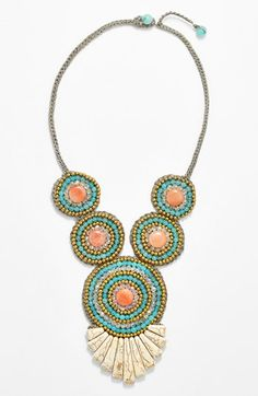 Panacea Multi Crystal Beaded Necklace | Nordstrom