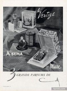 Coty 1948 Asuma, Vertige, Muse (L)