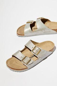 34fe22aca Arizona Washed Metallic Birkenstock Sandal
