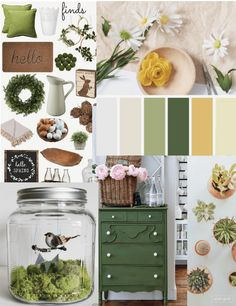 Spring is here! Get inspired and turn up the sunshine this spring with our spring inspired mood board.