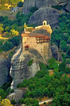 Los Monasterios de Meteora (Grecia).