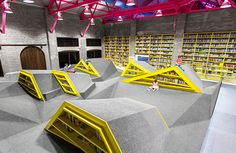 Childrens Library and Cultural Center at Conarte in Monterrey Mexico by Anagrama