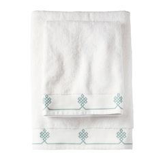 Aqua Gobi Bath Towels from @Serena and Lily for master bathroom