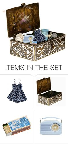 """Box of treasures"" by brooklynjadetoni ❤ liked on Polyvore featuring art"