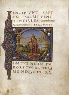 Book of Hours Language(s): Latin Country: Italy Cardinal point: Region: Veneto City: Padua or Mantua Assigned Date: s. XV2 Cambridge, Harvard University, Houghton Library, MS Typ 0213