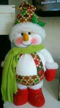 Felt Christmas Decorations, Ball Decorations, Christmas Art, Christmas Stockings, New Years Decorations, Christmas Ornaments, Holiday Decor, Felt Snowman, Snowman Crafts