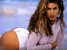 cindy crawford--Shawn's first crush. He tore out all pictures of cindy Crawford from any magazine and covered his whole wall with her pictures.