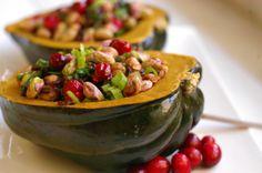 Stuffed Acorn Squash   #Healthy #Delicious #AutumnDelight