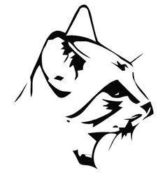 Cat Head Decal