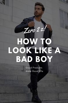We are going to tell you the secrets of being Bad Boy. I don't know why everyone loves bad boys but I know how to be a Bad boy so Let's start. Men Tips, Men Style Tips, Real Men Real Style, Real Man, How To Look Attractive, How To Approach Women, Boy Fashion, Mens Fashion, Fashion Outfits
