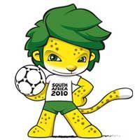 Mascote da Copa: Zakumi - África do Sul 2010