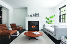 5 Montreal architecture firms you should know Country Fireplace, Fireplace Mantle, Fireplace Design, La Shed Architecture, Montreal Architecture, Family Room Fireplace, Living Room With Fireplace, Mantel Styling, Studio Living