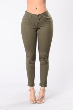 $ 19,99 USD Kayla Pants - Olive