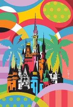 Disney #popart #disney #mickey