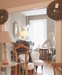 Benjamin Moore's Stonington Gray:  hallway color?