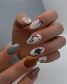 Edgy Nails, Funky Nails, Stylish Nails, Swag Nails, Edgy Nail Art, Tribal Nails, Short Nails Art, Grunge Nails, Black Nails
