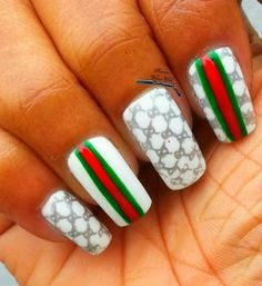 Gucci Nail Art