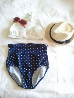 Sew Chrissy: High waisted bikini!!