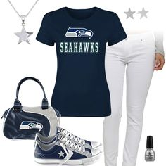 Seattle Seahawks All Star Outfit
