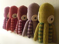 free crochet squid pattern