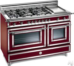 The Bertazzoni heritage series fulfills its traditional appeal with bright chrome finishes combined with brushed stainless steel. Description from azx7.com. I searched for this on bing.com/images