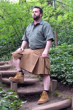 Casual Kilt sewing tutorial; something to whip up for Fathers' Day perhaps?