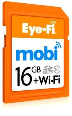 Eye-Fi Mobi 16GB SDHC Class 10 Wireless Memory Card to Deliver Camera Media to Apple iPhone, iPad or Android Devices (MOBI-16) by Eye-Fi, http://www.amazon.com/dp/B00CRFK4FC/ref=cm_sw_r_pi_dp_9fJSrb15NT7J4