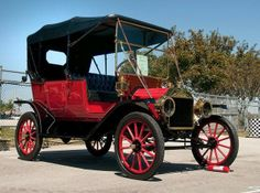 1911 Model T Ford Touring Car.