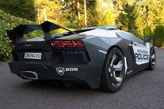 Lamborghini Aventador police interceptor