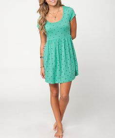 Take a look at this Spring Green Wild Spirit Dress by O'Neill on #zulily today!
