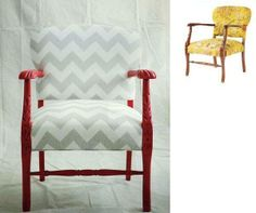 Fantástica recopilación de imágenes de sillones pintados